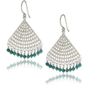 Anna Beck Designs Lombok Turquoise Fan Earrings