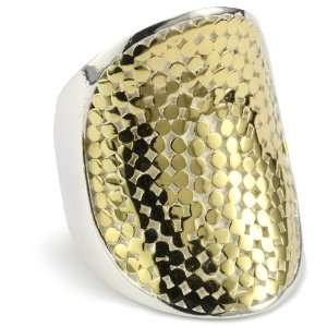 Anna Beck Designs Bali Saddle 18k Gold Plated Ring, Size