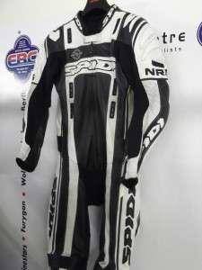 Spidi NRG Pro One Piece Motorcycle Race Leathers UK 38 EU 48 Black
