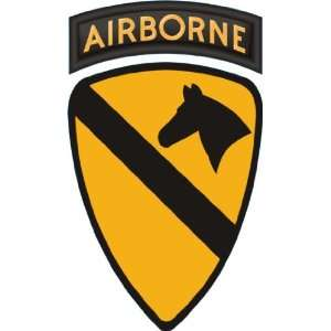 US Army 1st Cavalry Division Airborne Patch Decal Sticker