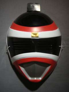 POWER RANGERS RED POWER RANGER HALLOWEEN MASK PVC NEW