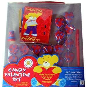 Build A Bear Valentines Day Card Activity/Set of 20, Heart