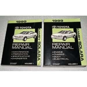 1999 Toyota Camry Solara Repair Manuals (SXV20, MCV20