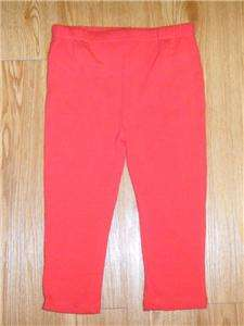 GIRLS 24 MONTH 2T BOUTIQUE VALENTINES DAY OUTFIT PANTS TOP SET RED NEW