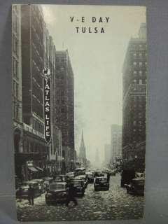 Day Atlas Life Building TULSA Oklahoma Postcard B/W