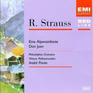 Previn, Vienna Philharmonic Orchestra, Richard Strauss, Andre Previn