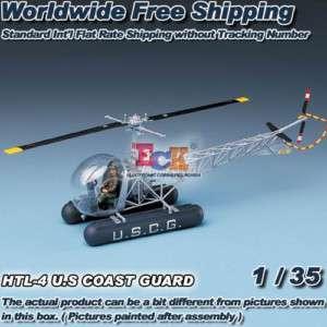 35 ACADEMY HTL 4 U.S COAST GUARD HELICOPTER 2200 NIB /