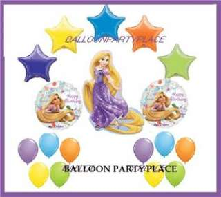 RAPUNZEL purple pink tangled 1st 2nd 3rd birthday party BALLOONS