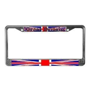 Great Britain British Flag Union jack License Plate Frame