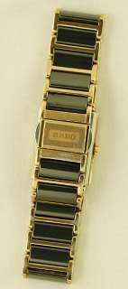 RADO Integral Jubile Ladies Watch Diamond Dial Gold Ceramic