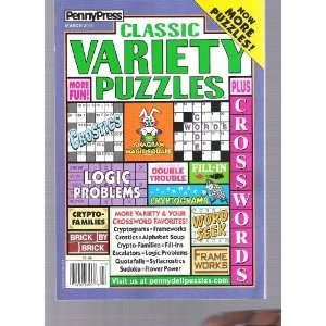 Penny Press Variety Puzzles (classic, March 2011) Various