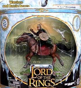 ROHAN HORSEMAN #2  AOME LOTR LORD RINGS  ULTRA RARE