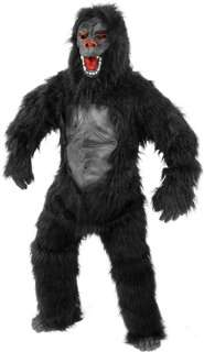 Dlx Adult Monkey Ape Gorilla Suit Mascot Costume