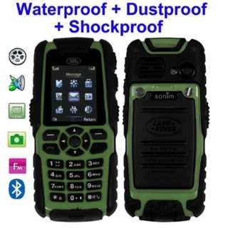 Green Land Rover Unbreakable Sport / Army Mobile Phone