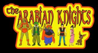 70s Classic Cartoon Arabian Knights custom tee