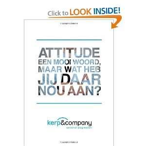Attitude   een mooi woord, maar wat heb jij eraan? (Dutch