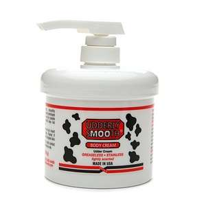 Udderly Smooth Udder Cream with Pump Dispenser, Lightly Scented 10 oz