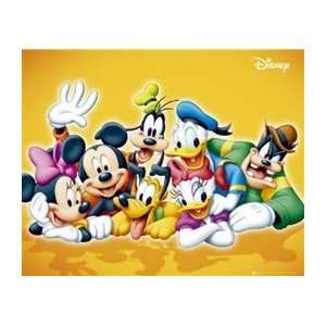 Donald Duck Minnie Cartoon TV Poster 16 x 20 inches Home & Kitchen