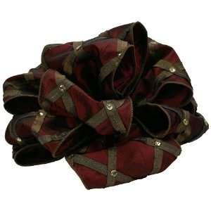 Offray Court Jester Wired Edge Sequin Designer Ribbon, 4