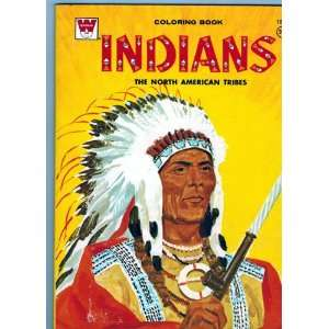 com Coloring Book Indians, The North American Tribes (A Whitman Book
