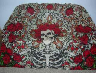 Tan Grateful Dead Big Bertha Tapestry Couch Bed Cover Wall Hanging NIP