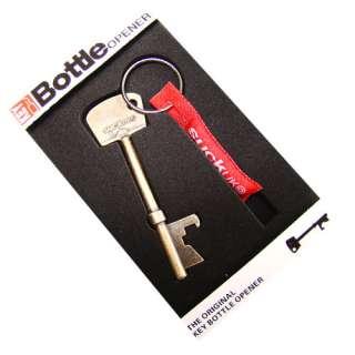 Package1*Copper Red Key Shaped Metal Bottle Opener Cilp Keychain