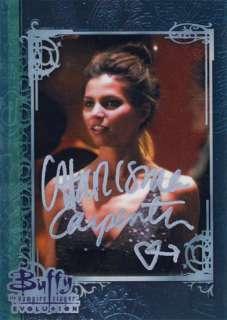 Carpenter Cordelia Hand Signed Auto Autograph Trading Card COA