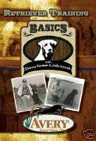 Avery Sporting Dogs Retriever Training DVD  Basics