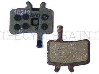 NEW Genuine Avid Juicy/BB7 Organic Disc Brake Pads   1 Pair OEM