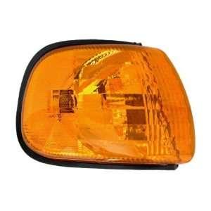 Park Signal Marker Light Lamp Lens SAE & DOT Van Automotive