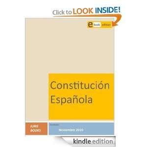 Constitución Española (Spanish Edition) Iuris Books