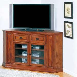 Boulder Creek 62 Corner TV Console