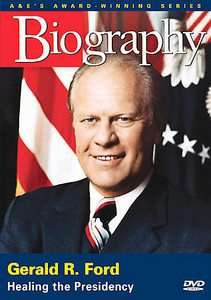 Biography Gerald R. Ford   Healing the Presidency DVD, 2006