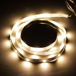 Warm White 1M 30 LED 5050 SMD Flexible Car DIY Strip Light Automotive