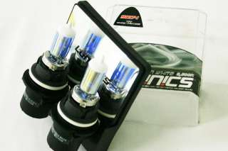 LUMINICS 9004 HB1 Titanium White 5500K 65/45W Head/Fog Light Bulbs