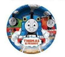 Thomas Friends Birthday Party Paper Plate NEW Design x6