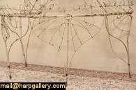 Victorian Wire Antique 1890 Garden Plant Stand