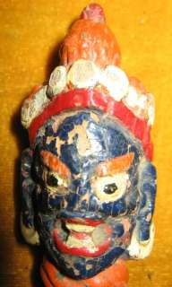 Name Wonderful Rare Old Antique Tibetan Buddhist Color Painted