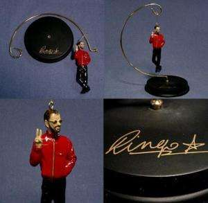 Beatles Ringo Starr 2000 PEACE Christmas Ornament STAND (STAND ONLY