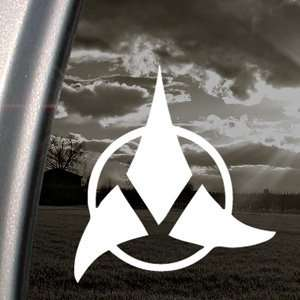 Star Trek Decal Klingon Car Truck Window Sticker