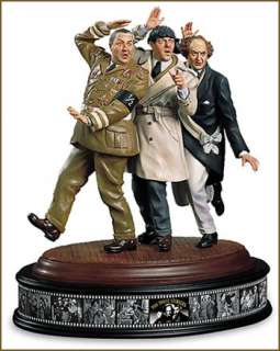 Stooges Hand Painted Porcelain Sculpture MT