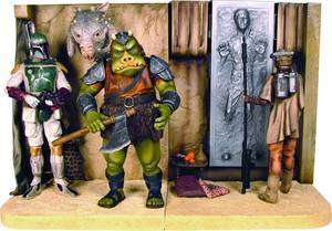 Gentle Giant Star Wars Bookends Jabbas Palace Book Ends