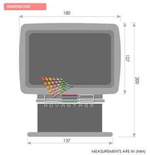 JABSCO MARINE/BOAT REMOTE CONTROL SEARCH SPOT LIGHT KIT