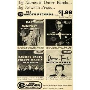 Lombardo Ayres Band Records   Original Print Ad