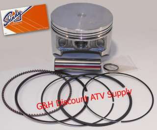 Shindy Piston and Rings Kit for the 2004 2007 Honda TRX400 AT Rancher