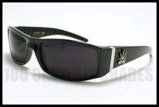 CHOLO Sunglasses Biker Gangster Style DARK BLACK New (size 5 1/2