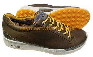 ECCO Biom Hybrid Golf Shoes   Cocoa Brown/Fanta 737428829790