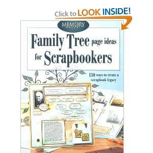 Family Tree Page Ideas for Scrapbookers (Memory Makers