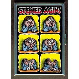 STONED POSTER DRUGS FUNNY CUTE ID Holder, Cigarette Case