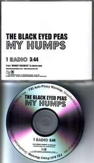 BLACK EYED PEAS My Humps RARE RADIO VERSION PROMO DJ CD